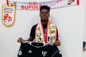 Ghanaian midfielder Victor Asamoah completes move to Spanish side CD Bupolsa