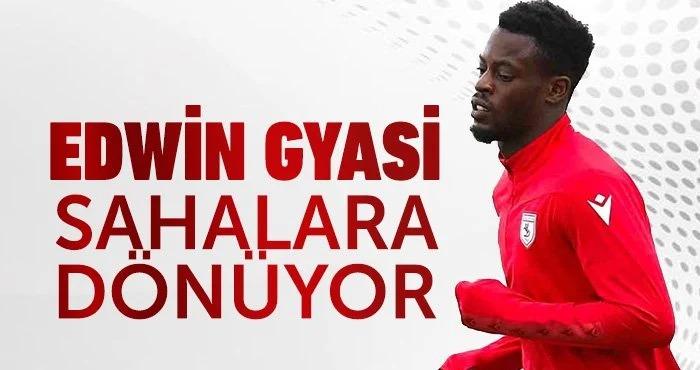 Fully-fit Edwin Gyasi set to mark Samsunspor debut against Akhisarspor