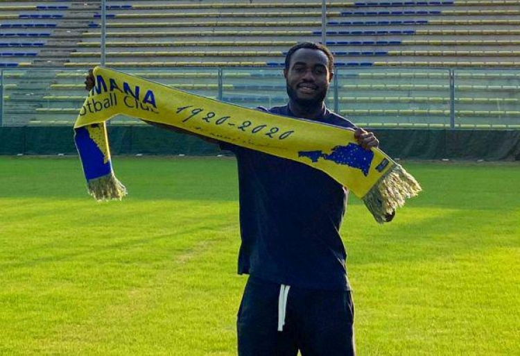Kingsley Boateng pledges to give his all to new club Fermana FC