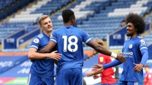 VIDEO: Watch Daniel Amartey's equalizer for Leicester City in draw against Blackburn