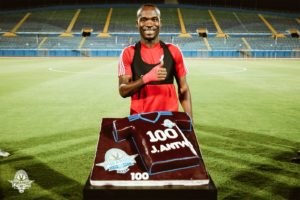 Pyramids FC honour John Antwi after netting 100 goals in Egypt