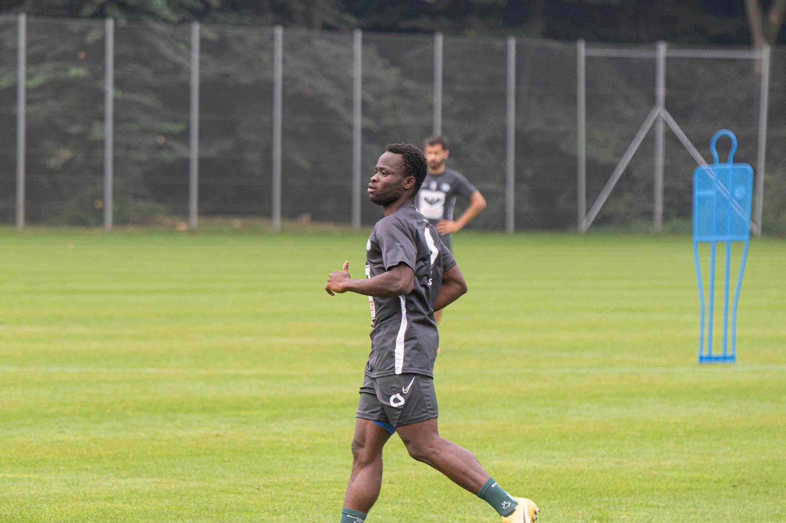 Clinton Antwi ready to work hard at Esbjerg fB to help club