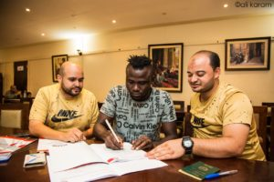 OFFICIAL: Striker Mohammed Cissey joins Egyptian club Elkawmy