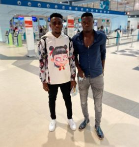 Ghanaian midfielder Aidan Nana Poku arrives in Israel for trials with Hapoel Jerusalem