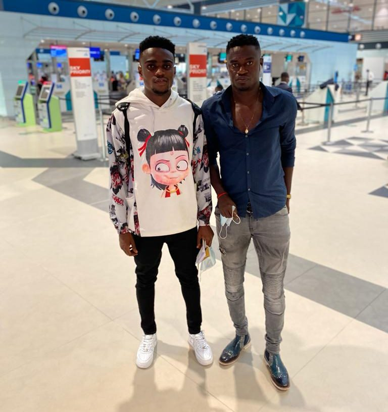 Ghanaian midfielder Aidan Nana Poku arrives in Israel for trials with Hapoel Jerusalem