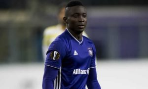 Mohammed Dauda features in Anderlecht's 2-2 draw against Zulte Waregem
