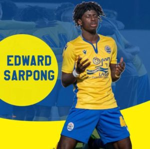 Ghanaian defender Edward Sarpong pens new contract with Esperance de Lagos