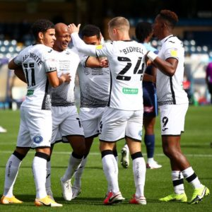 Andre Ayew scores and assist in Swansea City win against Wycombe Wanderers [Video]