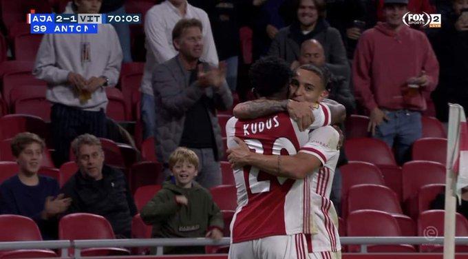 Watch Kudus Mohammed 'sweet' assist against Vitesse Arnheim [Video]