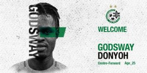 OFFICIAL: Isreali side Maccabi Haifa sign Ghanaian striker Godsway Donyoh