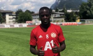 WATCH: Edwin Gyasi celebrate from the stands as Samsunspor thump Ümraniyespor [VIDEO]