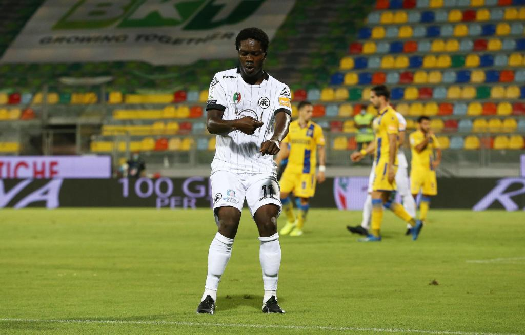 Spezia Calcio winger Emmanuel Gyasi anxious for start of Serie A