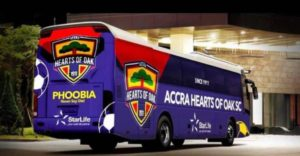 Hearts of Oak set to unveil new bus today