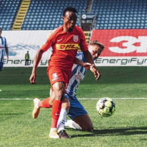 Isaac Atanga delighted after scoring first goal of the season for FC Nordsjaelland