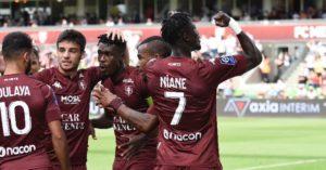 John Boye plays full throttle in FC Metz's 2-1 win against Reims