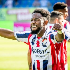 Forward John Yeboah scores on Willem II debut as they beat Heracles 4-0
