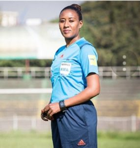 Lidya Tafesse Abebe - From basketball to top level refereeing