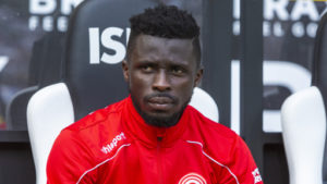 Suspended Nana Ampomah to miss Fortuna Dusseldorf's encounter against Wurzburger Kickers