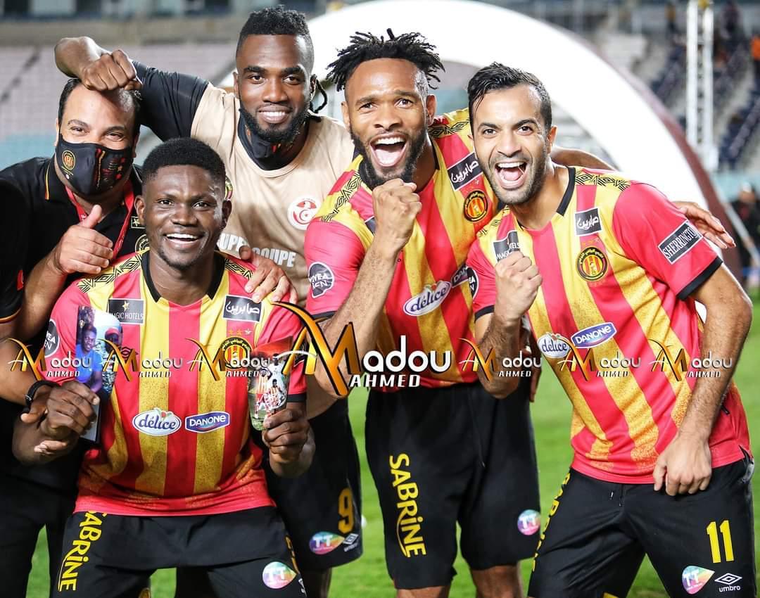 PHOTOS: Ghanaian midfielder Kwame Bonsu clinches Tunisian Super Cup with Espérance