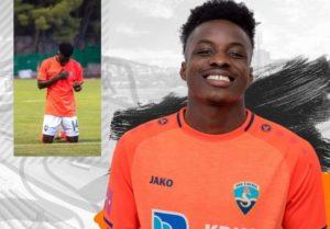 Ghanaian youngster Prince Ampem adjudged wins MOTM after scoring brace against NK Locomotiva