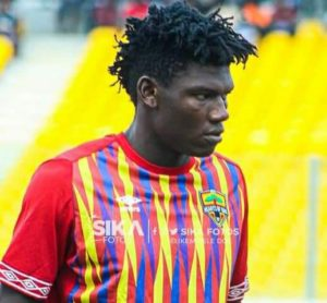 Hearts MD wants a better offer for defender Raddy Ovouka amid reported interest