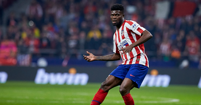 Arsenal target Thomas Partey rejects new Atletico Madrid deal - Reports