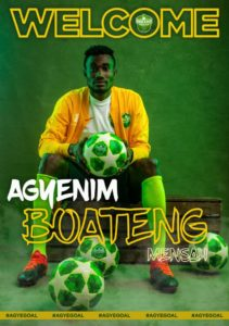 OFFICIAL! Dreams FC announce the signing of Agyenim Boateng Mensah