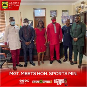 Kotoko management charged to make club most visible in Africa