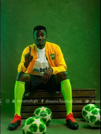 I want to win the goal king at the end of the season - Dreams FC's Agyenim Boateng