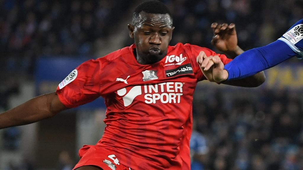 Nicholas Opoku up for Amiens SC 'Player of the Month' for September