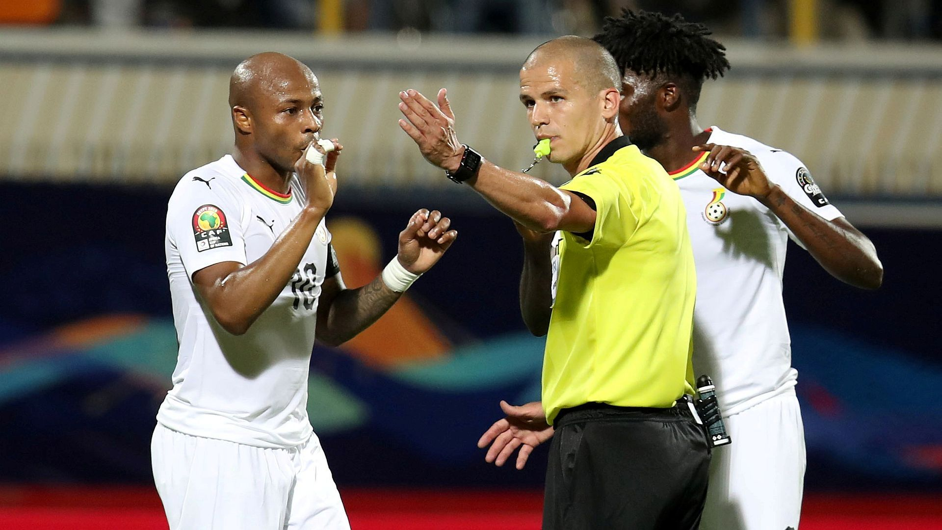 Refereeing is a passion - Victor Gomes