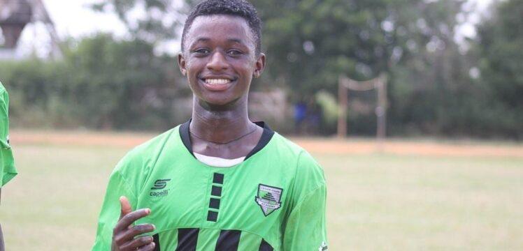 Cedar Stars' forward Samuel Boakye earns Ghana U-17 call-up