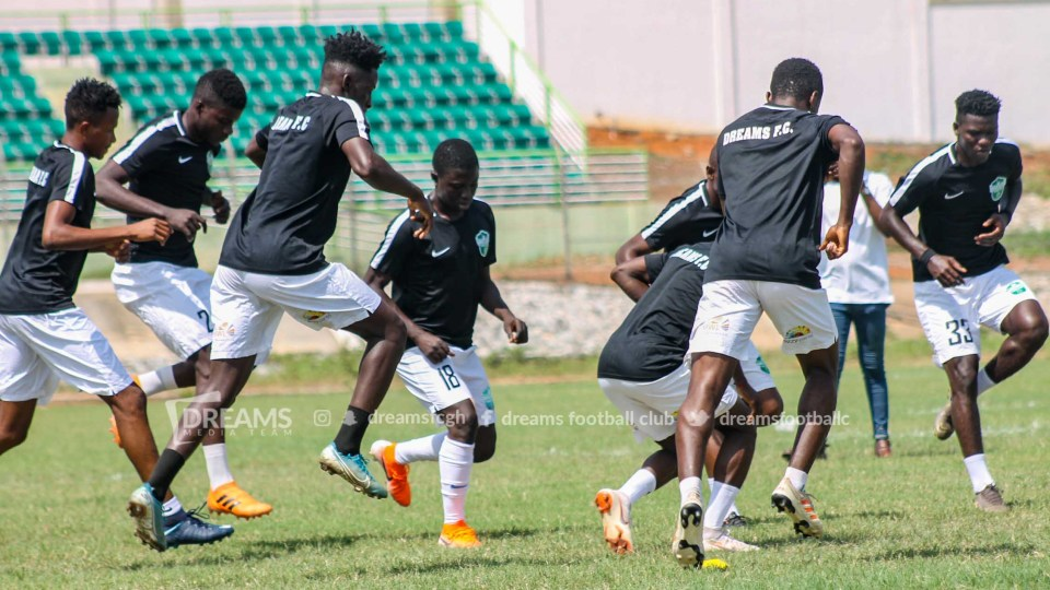 I am happy with the fitness level of the players - Dreams FC coach