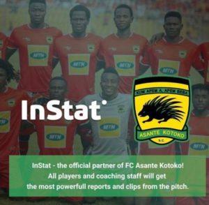 Kotoko announce partnership deal with InStat Football