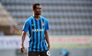 Former FC Schalke 04 midfielder Anthony Annan played in Inter Turku's 3-1 loss