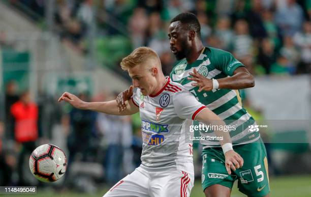 Abraham Frimpong plays full time as Ferencvárosi TC beat Kisvarda FC