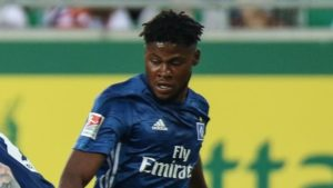 Midfielder Broni Kwateng scores twice in Hamburger SV defeat at Eintracht Norderstedt