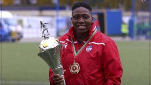 Nigeria striker Oghiabekhva makes history in UEFA Women's Champions League