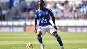 Ghanaian striker Majeed Waris excited as Strasbourg seal first win in Ligue 1