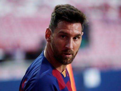 Lionel Messi was involved in the quarter final tie