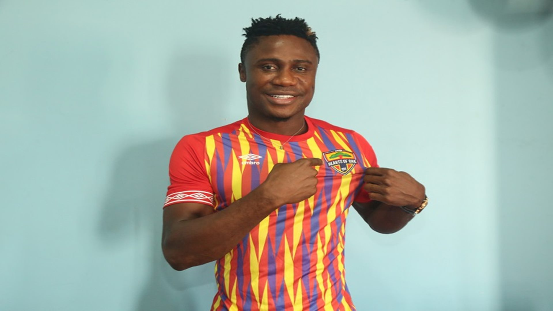 Nuru Sulley on the verge of ditching Hearts of Oak for a foreign move
