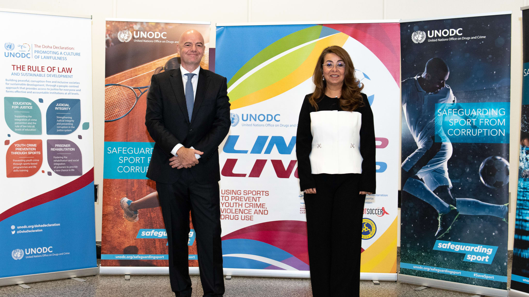 UNODC, FIFA collaborate to root out corruption and encourage the growth of young people through football