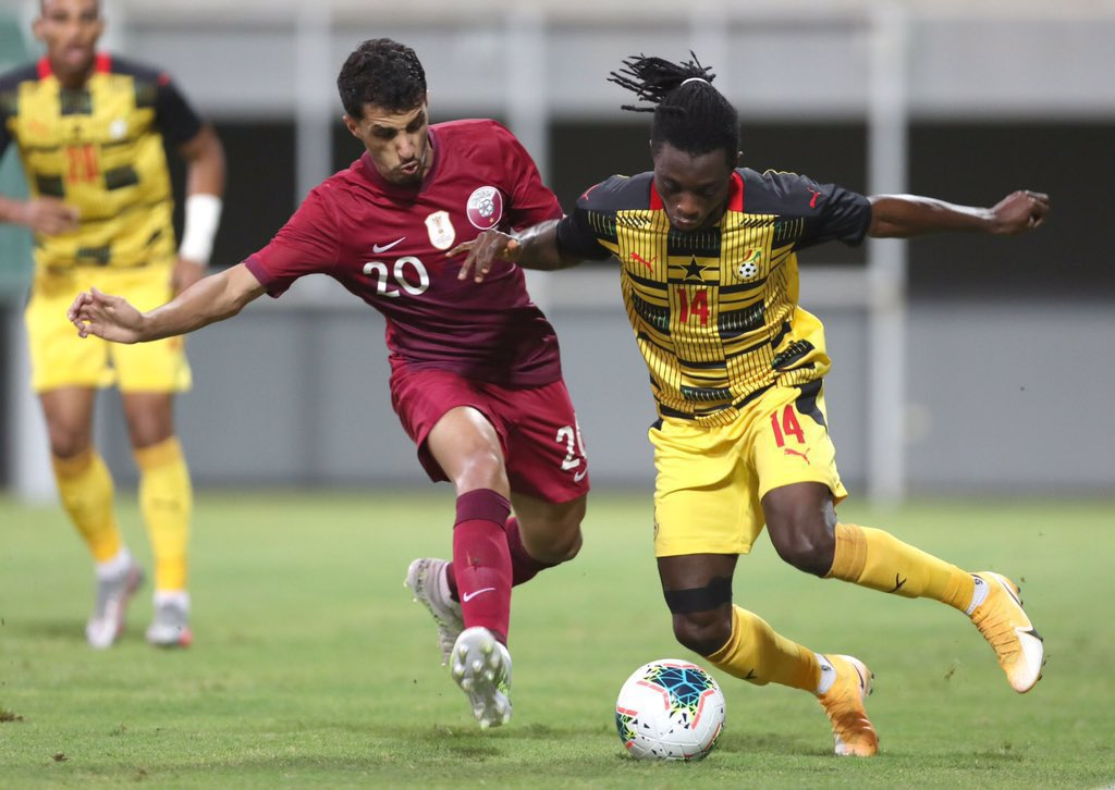 Samuel Owusu sparkles in Ghana's sizzling display against an undercooked Qatar.