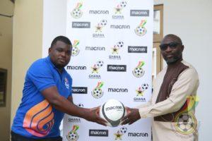 GPL clubs receive Macron training footballs ahead of new season