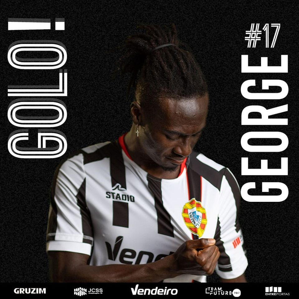 George Ofosu on the scoresheet but Varzim suffers third defeat in a row