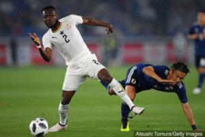 Joseph Attamah Lawerh joins Black Stars camp ahead of Mali, Qatar friendlies