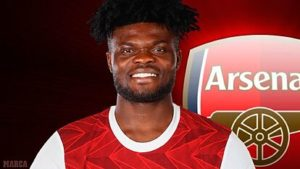 Herbert Mensah implores Arsenal supporters to have patience for new arrival Thomas Partey
