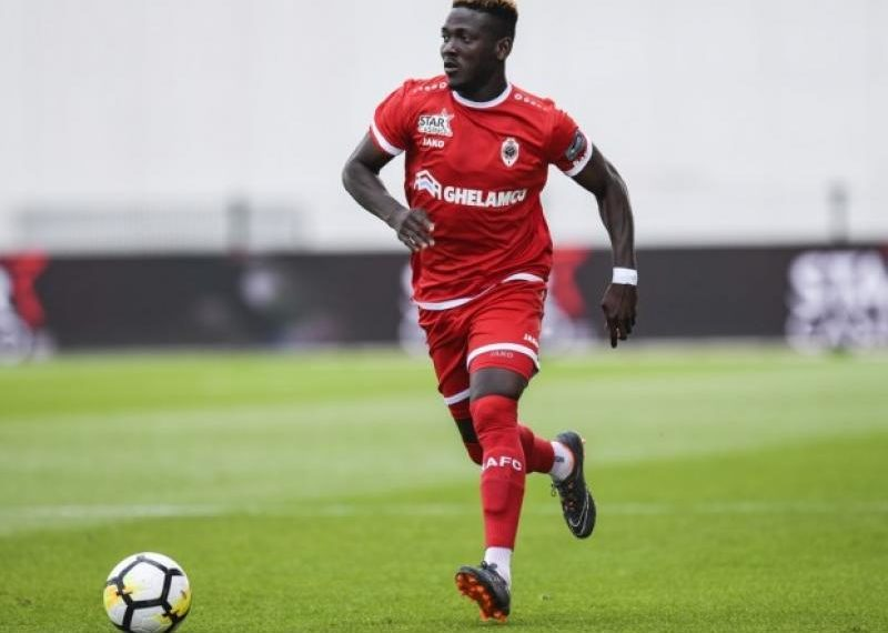 Daniel Opare provides assist for Zulte Waregem in defeat to Royal Antwerp