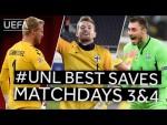 SCHMEICHEL, HRADECKY, BUSHCHAN: #UNL BEST SAVES, Matchdays 3&4