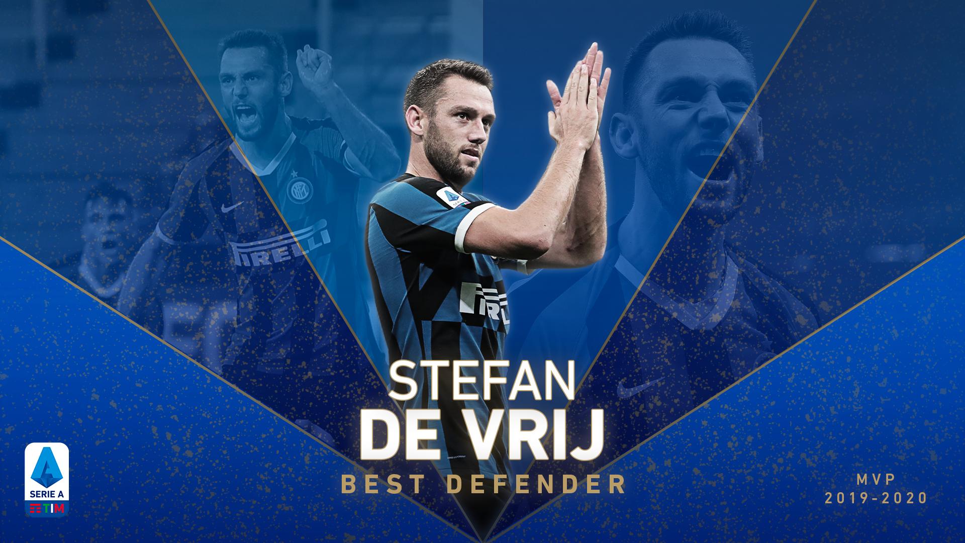 STEFAN DE VRIJ - BEST DEFENDER OF THE SERIE A TIM 2019/2020